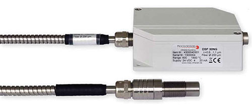 Fiber Optic Pyrometer for Glass Industry Image